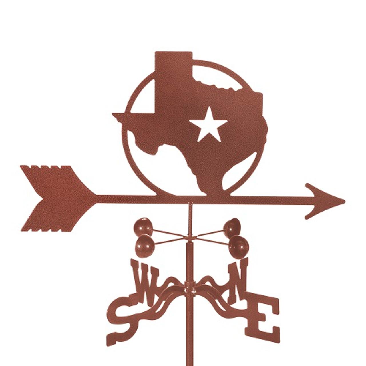 Texas Star Weathervane With Mount