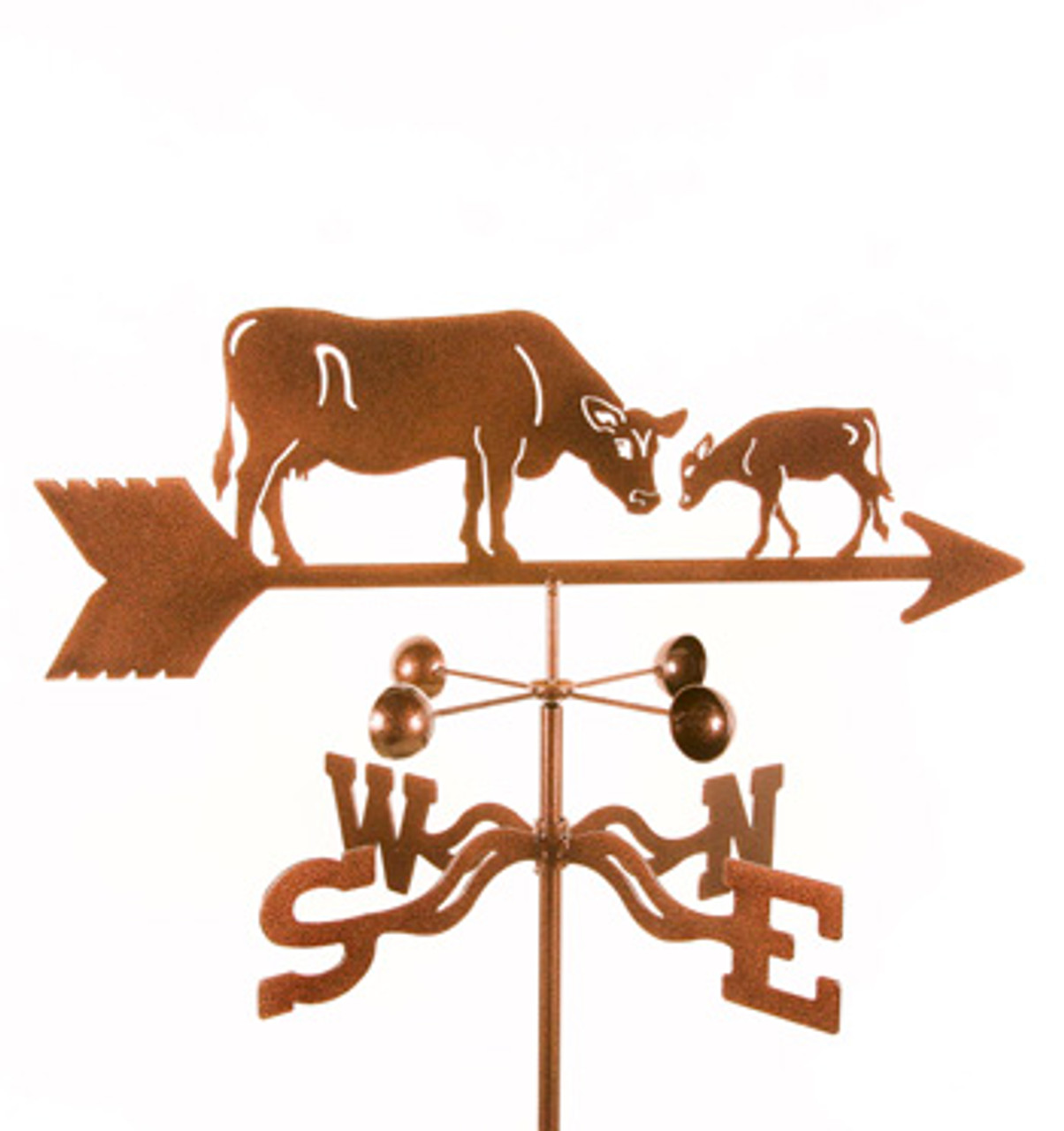Cow & Calf Weathervane With Mount