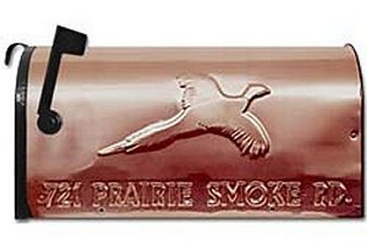 Mailbox - Copper: Pheasant