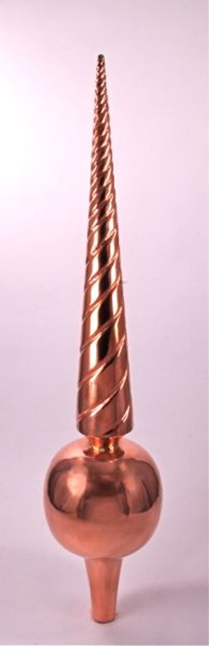 Finial - Large Venetian- Copper