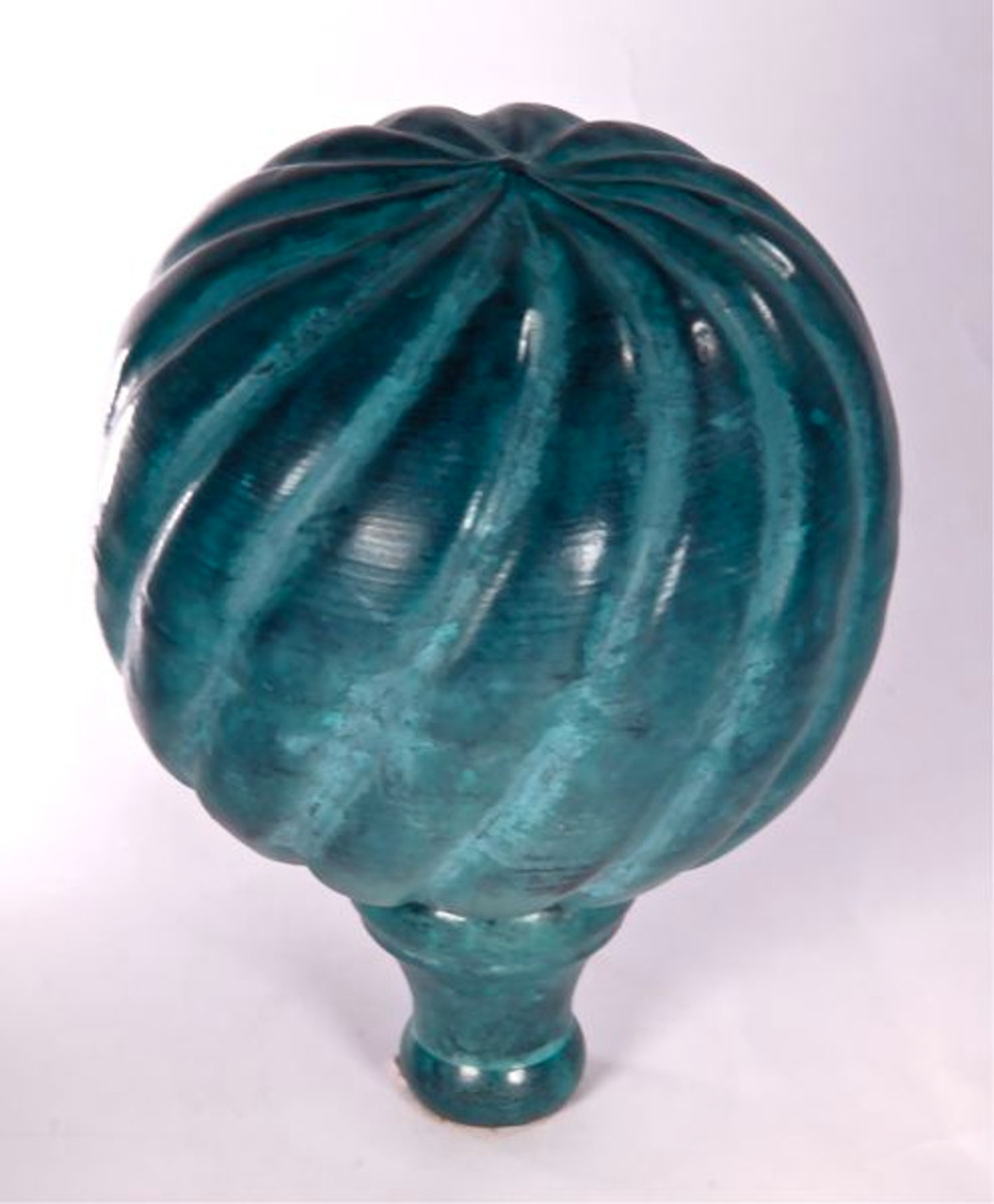 Finial - Small Parisian-Verdigris