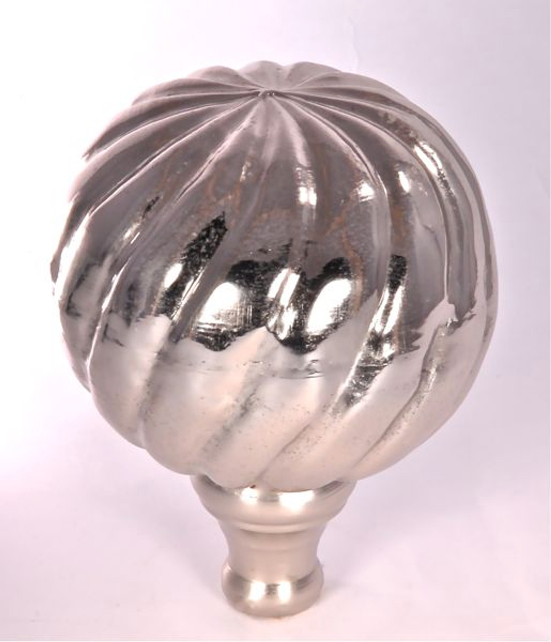 Finial - Small Parisian- Nickel Polished
