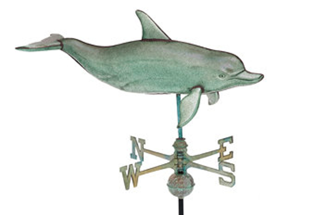 Weathervane - XL 3-D Dolphin