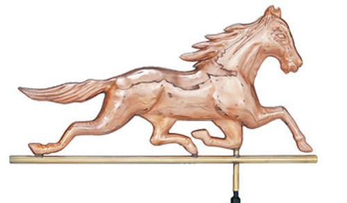 Weathervane - Polished - Horse  'Patchen'