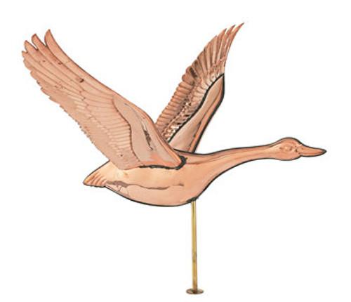 Weathervane - Polished Canadian Goose