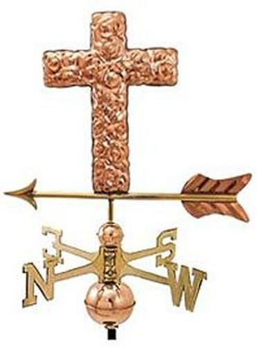 Weathervane - Polished - Cross