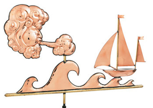Weathervane - Polished - Sailors Delight