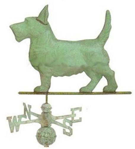 Weathervane - Scottish Terrier Dog