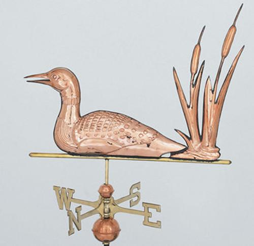 Weathervane - Polished - Loon