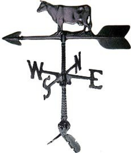 Weathervane: 24in. Cow With Mount