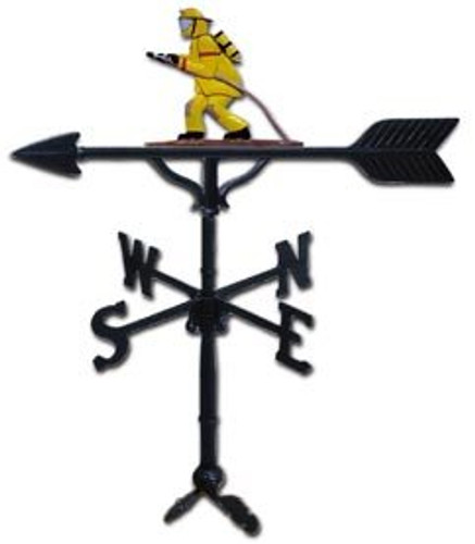 Weathervane: 32in. Fireman With Mount