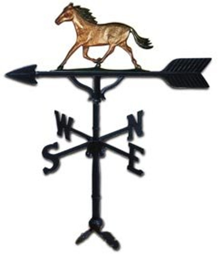 Weathervane: 32in. Horse With Mount