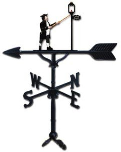 Weathervane: 32in. Lamp Lighter With Mount