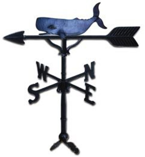 Weathervane: 32in. Whale With Mount