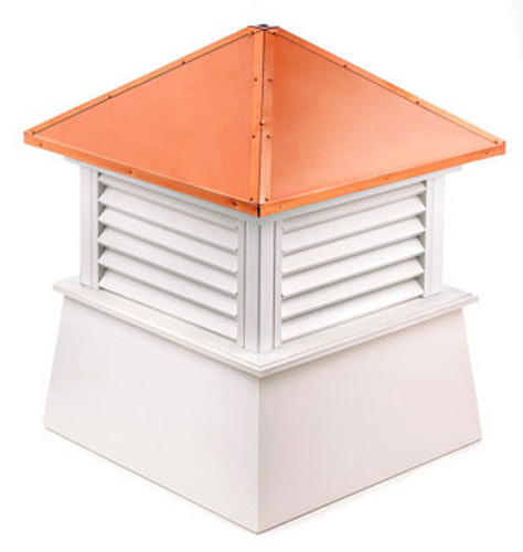 Good Directions Vinyl Manchester Cupola - 48in. square x 64in. high