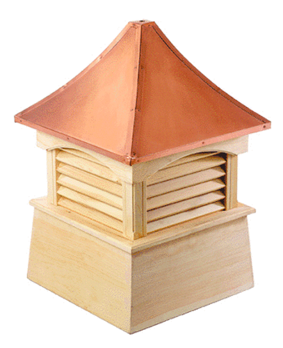 Good Directions Cypress Coventry Cupola - 54in. square x 78in. high