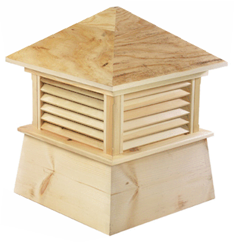 Good Directions Cypress Kent Cupola - 84in. square x 113in. high