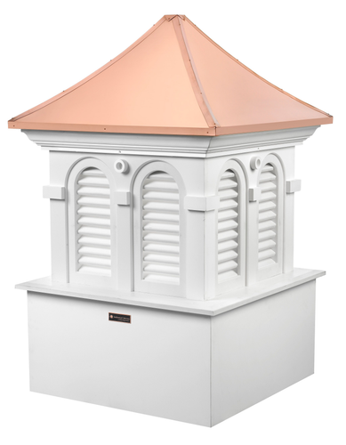 Good Directions Smithsonian Vinyl Alexandria Cupola - 30in. square x 47in. high
