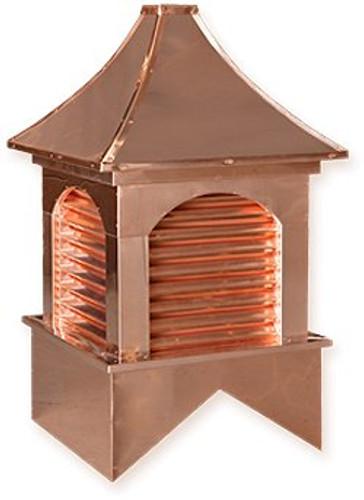 Cupola - Dalton - Copper - 24Lx24Wx48H