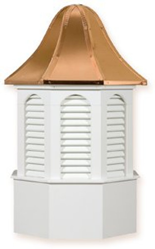Cupola - Pinnacle - Azek - 30Lx30Wx57H