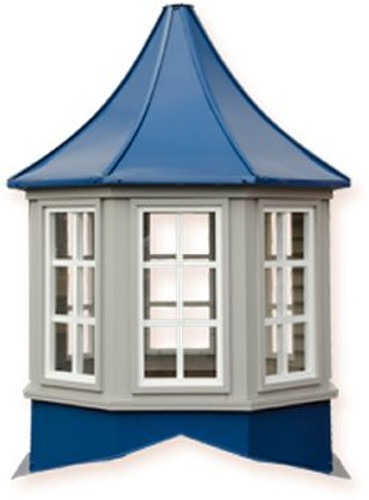 Cupola - Sundance: Azek - Winchester - Windowed - 60x60x84H