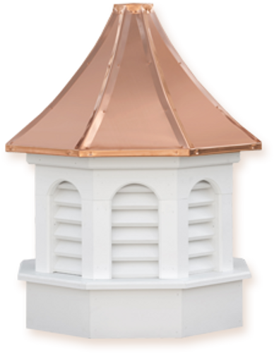 Cupola - Azek Kingston - Gazebo - 30Lx30Wx59H
