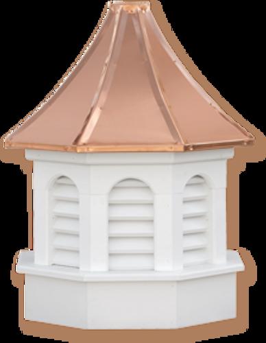 Cupola - Azek Kingston - Gazebo - 48Lx48Wx90H