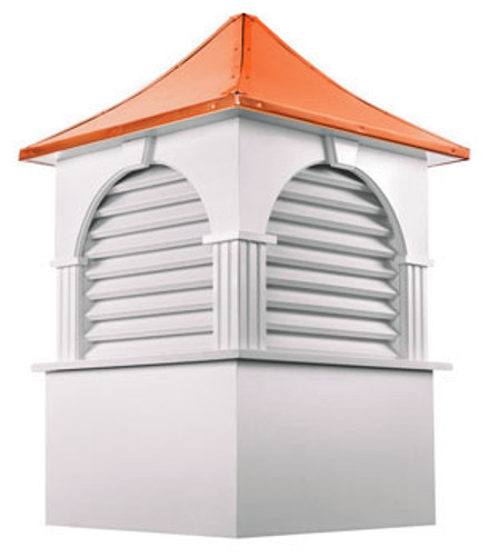 Good Directions Vinyl Farmington Cupola - 60in. square x 94in. high