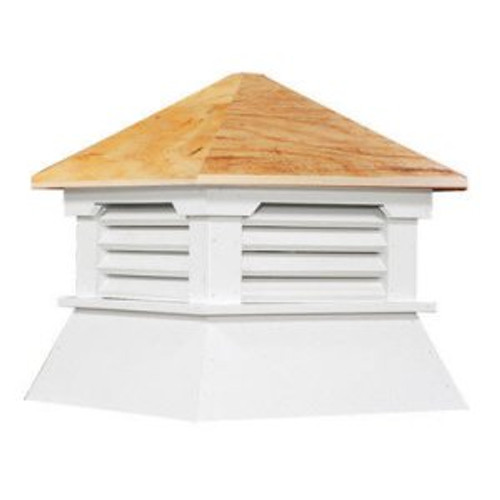 Cupola - Classic Shed: Azek - Plywood Top - 21Lx21Wx23H