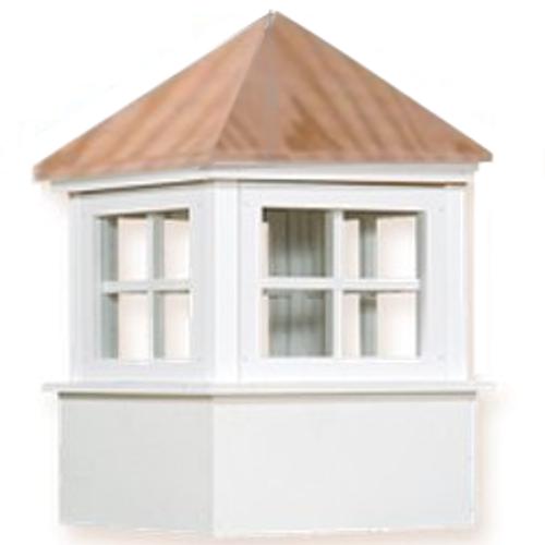 Cupola - Ellsworth: Azek - Wood Top - 22Lx22Wx35H
