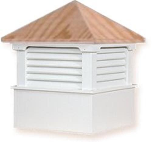 Cupola - Hamlin: Azek - Wood Top - 22Lx22Wx30H