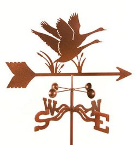 Bird-Geese Weathervane with mount