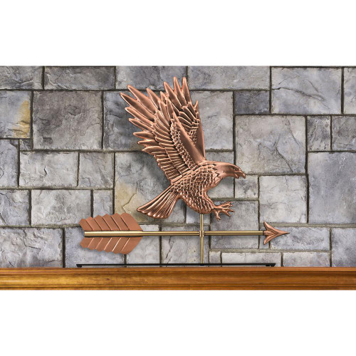 American Bald Eagle Mantel Weathervane