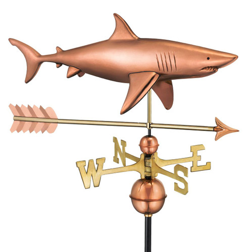 Shark with Arrow Weathervane