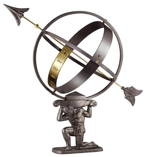 Atlas Armillary Sphere - Armillary Sundial by Good Directions