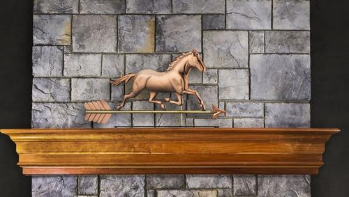 Trotting Horse Mantel Weathervane