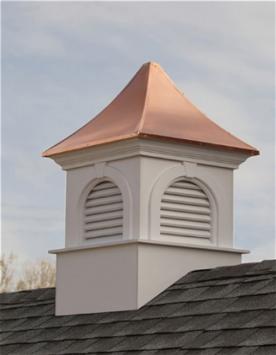 Good Directions Newingtom Smithsonian Vinyl Cupola 26in. square x 42in. high