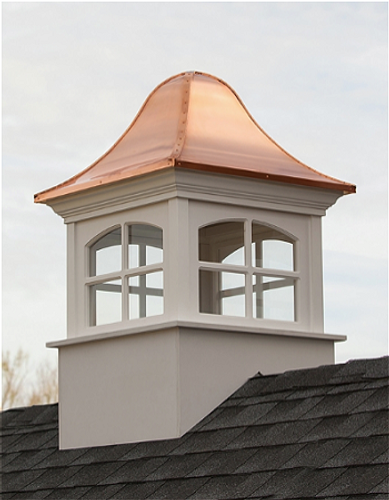 Good Directions Greenwich Vinyl Cupola 48in. square x 78in. high