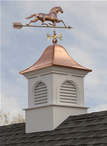 Good Directions Ridgefield  Vinyl Cupola 30in. square x 50in. high