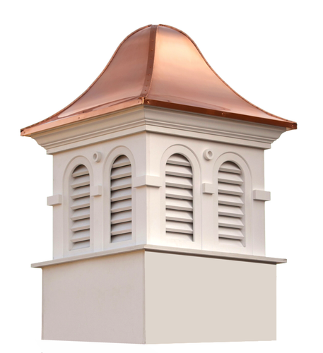 Good Directions Smithsonian Montgomery Vinyl Cupola 48in. square x 79in. high