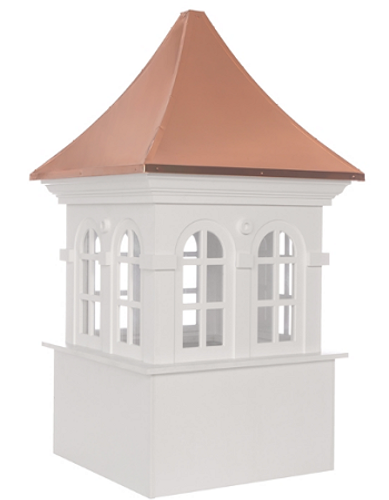 Good Directions Smithsonian Stafford Vinyl Cupola 48in. square x 80in. high