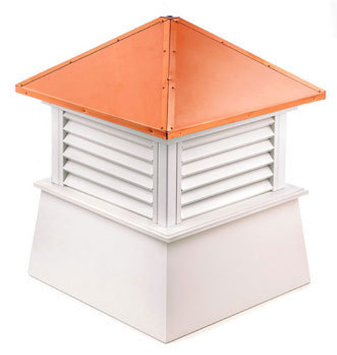 Good Directions Vinyl Manchester Cupola - 84in. square x 105in. high