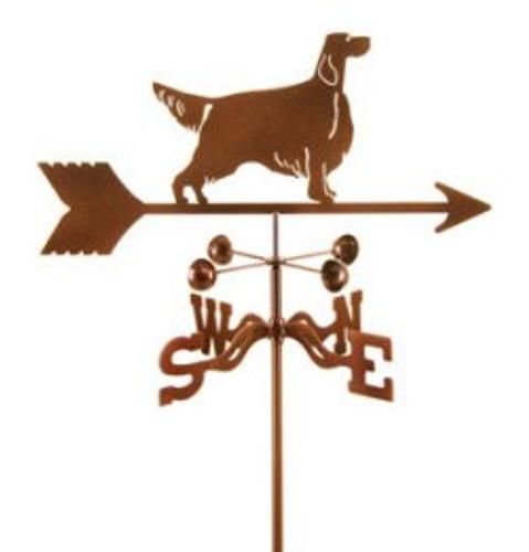 Dog-Setter Weathervane with mount