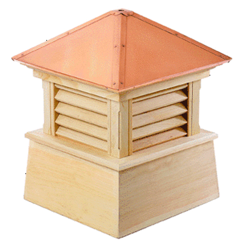 Good Directions Cypress Manchester Cupola - 84in. square x 105in. high