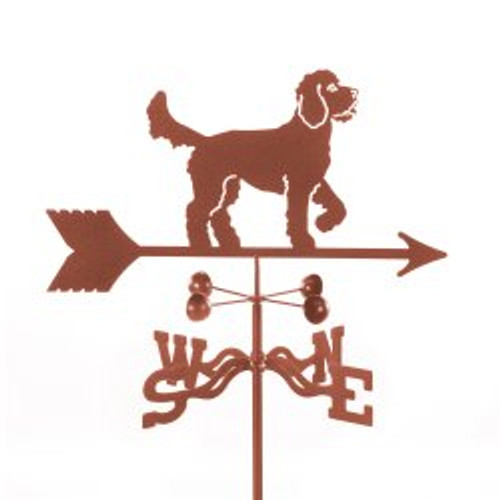 Dog-Golden Doodle Weathervane with mount
