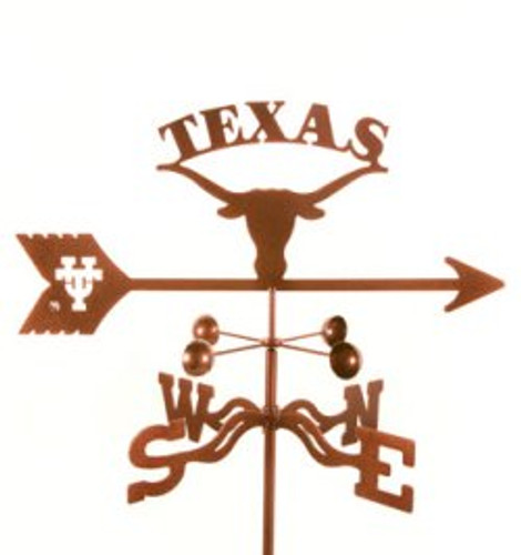 Texas Longhorns Logo Weathervane With Mount