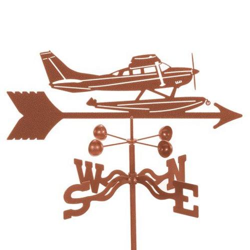 Float Plane Weathervane With Mount