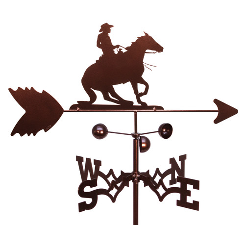 Reining Horse Weathervane