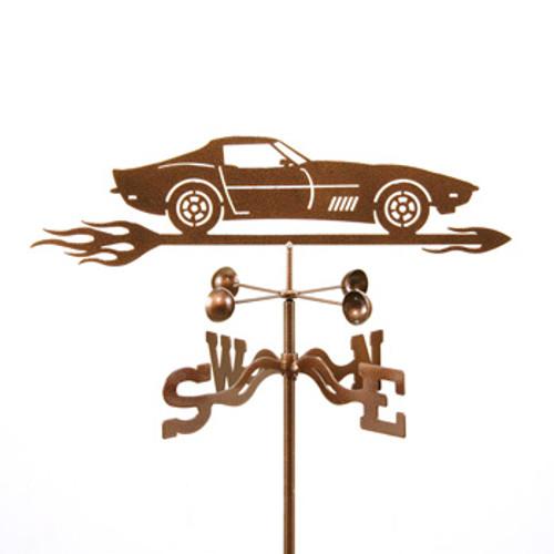 Car-Corvette C3 Weathervane With Mount