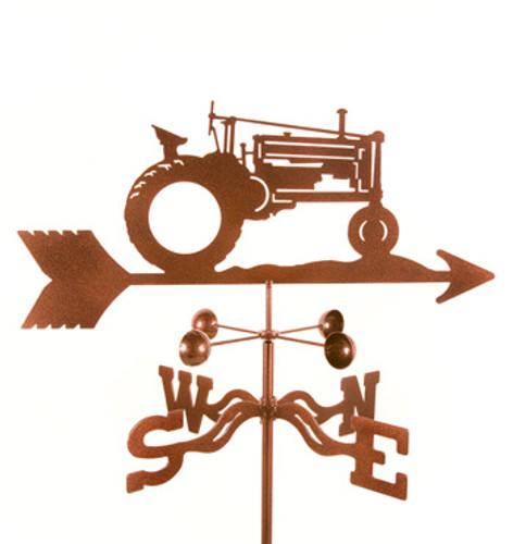 Tractor-John Deere Weathervane With Mount